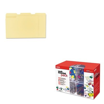 KITACC76233UNV12113 - Value Kit - Acco Club Clip Pack (ACC76233) and Universal File Folders (UNV12113) (Kit Club Value)