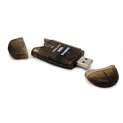 Omega oucsd USB 2.0 marrón Unidad de Tarjeta de Memoria ...