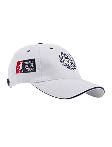 PADEL REVOLUTION - Gorra WPT, Color Blanco Talla Unica: Amazon.es ...