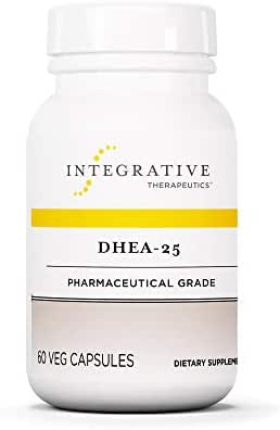 Integrative Therapeutics - DHEA-25 - Adrenal and Thyroid Function and Healthy Aging - 60 Capsules