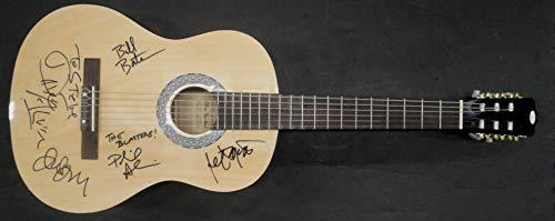 The Blasters Signed Auto Electric Guitar Alvin Wyatt Bazz Bateman JSA DD73576