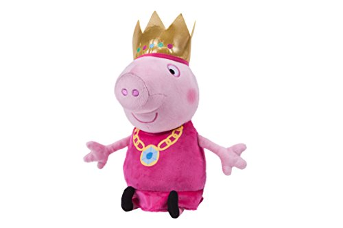 Peppa Pig Plush Preschool Toy, Princess N' Oink Peppa