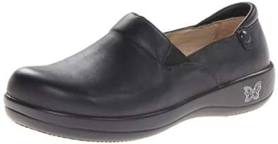 Alegria Women's Keli Professional Slip Resistant Work Shoe,Black Nappa 35 W EU