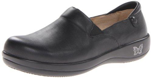 Alegria Women's Keli Professional Slip Resistant Work Shoe,Black Nappa,39 BR/9-9.5 M US by Alegria