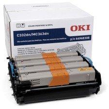 Okidata 44968308 20k CMYK Image Drum for C332/mc363