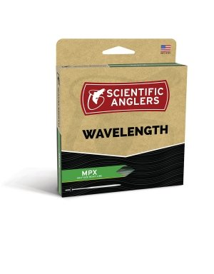 Scientific Anglers Wavelength MPX Taper - Amber / Optic Green, WF- 3-F