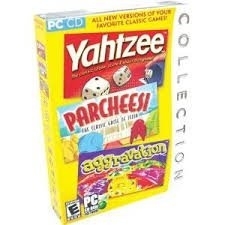 Cd-rom Board Game Collection with Yahtzee, Parcheesi, and - Parcheesi Window
