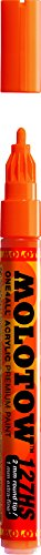 ONE4ALL Urban Fine Art Paint Markers, 2 mm, Dare Orange