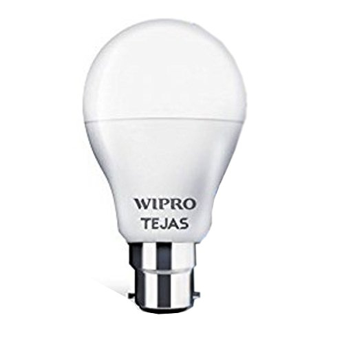 Wipro Tejas B22 LED Bulb  N95001, Cool Day Light, 0.5 lb, 9 W