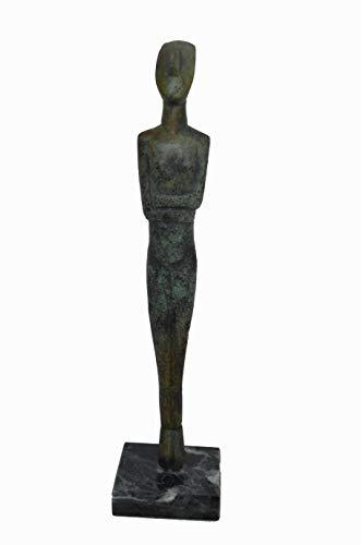 Cycladic figurine ancient Greek bronze reproduction ()