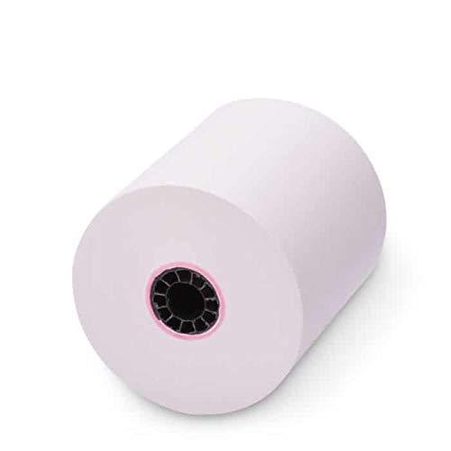 TEK POS - 3'' x 165' - Single-Ply - White Bond Receipt Roll Paper - 50 Rolls - USA Made