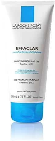 La Roche-Posay Effaclar Purifying Foaming Gel Cleanser for Oily Skin, 6.76  Fl Oz.