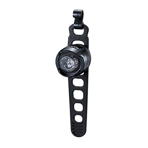 CAT EYE - ORB LED Bike Safety Light - Commuting and Road Cycling - Front Only, Black