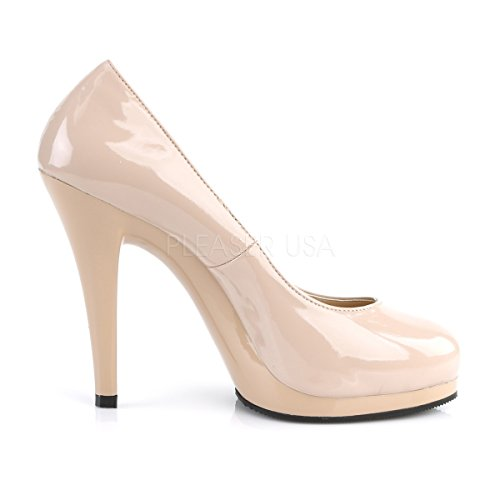 480 High Flair PleaserUSA Lack Pumps nude Lack Damen Heels aq5YwpT