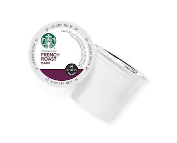 STARBUCKS FRENCH ROAST COFFEE K CUP 24 COUNT