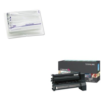 KITLEXC780H1MGREARR1245 - Value Kit - Lexmark C780H1MG High-Yield Toner (LEXC780H1MG) and Read Right KleenSwabs Printer Cleaner Swabs (REARR1245) -