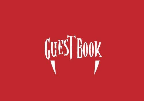 Guest Book: Guest Book For Halloween Parties (Volume (Halloween Party Interior Design)
