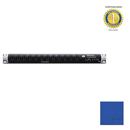 Presonus StudioLive 16R 18-input, 16-channel Rackmount Digital Mixer with Microfiber and 1 Year Everything Music Extended Warranty