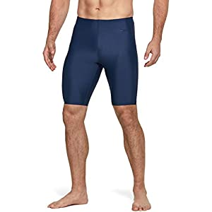 TSLA Men's Swim Jammers, Athletic Racing Swimming Shorts Trunks, UPF 50+ Sun Protection Endurance Triathlon Swimsuit