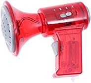 Amosfun Kids Voice Changer Toy Trumpet Microphone Toys with Megaphone Function for Toddlers Childrens Speaker