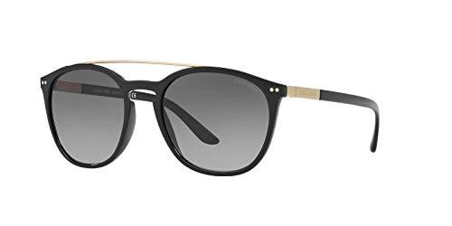 Giorgio Armani Womens Sunglasses Black/Grey Nylon - Non-Polarized - 53mm