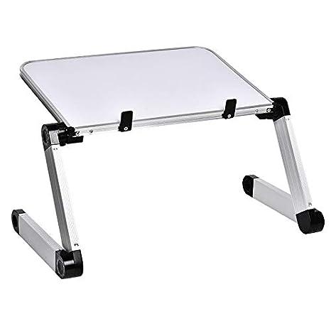 Amazon.com: Mesa plegable portátil de aleación de aluminio ...