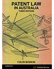 Patent Law in Australia Third Edition - Book