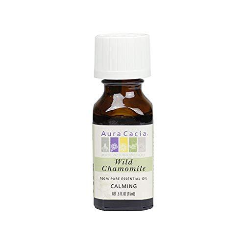 Aura Cacia Pure Wild Chamomile Essential Oil   0.5 fl. oz.   Ormenis multicaulis