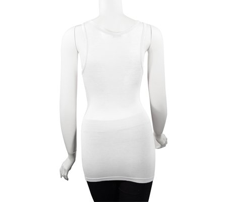 Soft Women's U-Style Tank Top Blanco