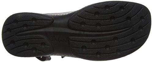 Cambio Leather Think Sandals Womens Black Sandal BqxU5x8