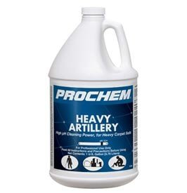Prochem - Heavy Artillery - High pH Cleaning Power for Heavy Carpet Soils - Commercial Carpet Prespray Solution - Concentrate - 1 Gallon - S738 by Karcher by Karcher