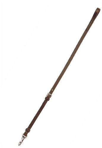 Standing Martingale Attachment (Tory Leather Standing Attachment With Snap - Havana Oversize)