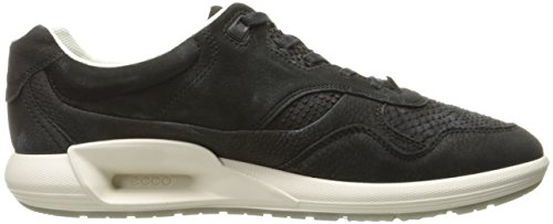 Black 51707black CS16 ECCO Black Ladies Sneakers Low Women's Top nvAqYwRA