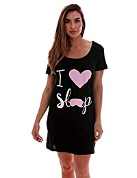 JUST LOVE Sleep Dress for Women Sleeping Dorm Shirt