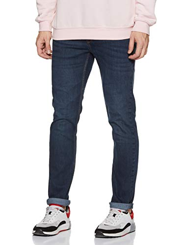Flying Machine Men's Skinny-Jackson Jeans (FMJN9663_Blue_34) 2021 June Care Instructions: Machine Wash Fit Type: Skinny 100 % Cotton