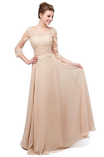 Rongstore Women's A line chiffon Mother of the Bride Dresses