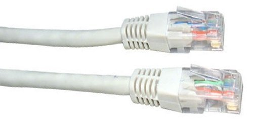 30m White Network Cable - High Quality / CAT5e (enhanced) / RJ45 / Ethernet / Patch / LAN / Router / Modem / 10/100