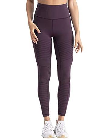 ed6631055f94 Hopgo Women's High Waist Moto Legging Power Flex Workout Legging 7/8 Gym  Yoga Pants