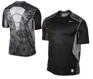 Men's Nike Pro Combat Shirt Size L Fitted Activewear Tops Clothing, Shoes & Accessories