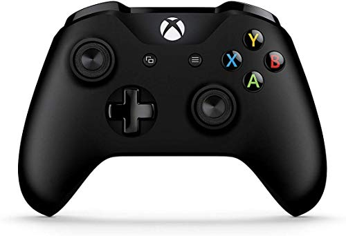 Microsoft Official Xbox Black Controller