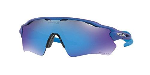 Oakley Radar EV Sunglasses X-Ray Blue / PRIZM Sapphire & Cleaning Kit - Blue Oakley Radar