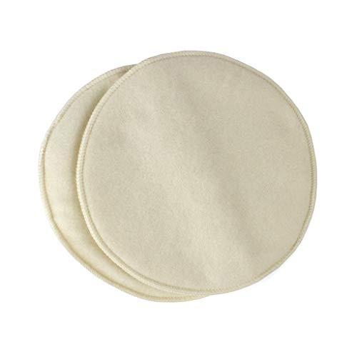 Organic Wool Nursing Pads - Large for Breastfeeding ()