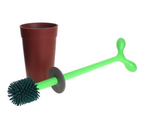 Alessi Aleesi ASG04 Merdolino Toilet Brush, Brown