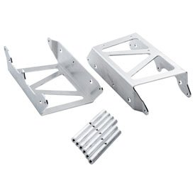 7602 Racing Radiator Braces Brushed Aluminum for Husqvarna FC 250 2014-2015