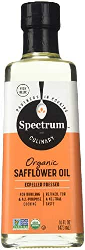 Cooking Oils: Spectrum Organic Safflower Oil