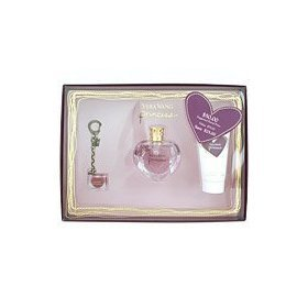 VERA WANG PRINCESS by Vera Wang SET-EDT SPRAY 1 OZ & BODY LOTION 2.5 OZ & LIP GLOSS KEYCHAIN .11 OZ