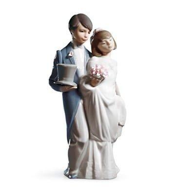 Lladró Wedding Bells Figurine