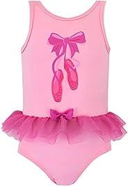 Harry Bear Girls Ballerina Swimsuit