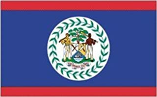 product image for All Star Flags 4x6' Belize Nylon Flag - All Weather, Durable, Outdoor Nylon Flag