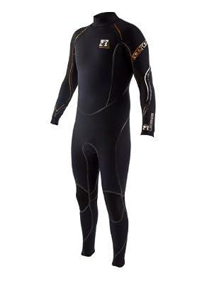 Body Glove Men's 4/3mm Legends Back-Zip Full Body Wetsuit, Medium